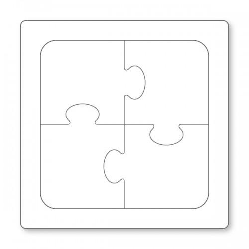 4片客製贈禮品拼圖