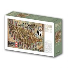 文化古蹟巡禮─台灣尋蹟1000片拼圖