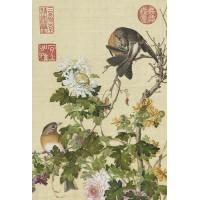 清郎世寧 仙萼長春-菊花 拼圖